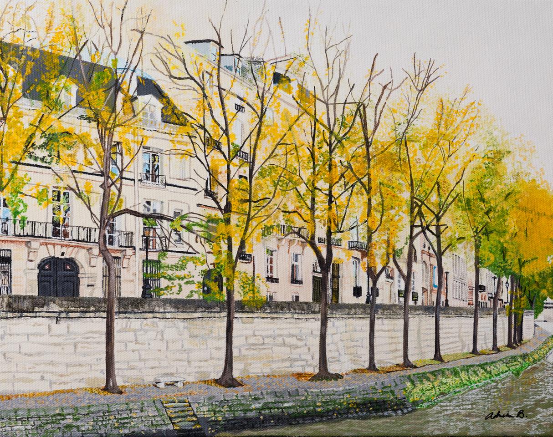 Autumn on the Seine