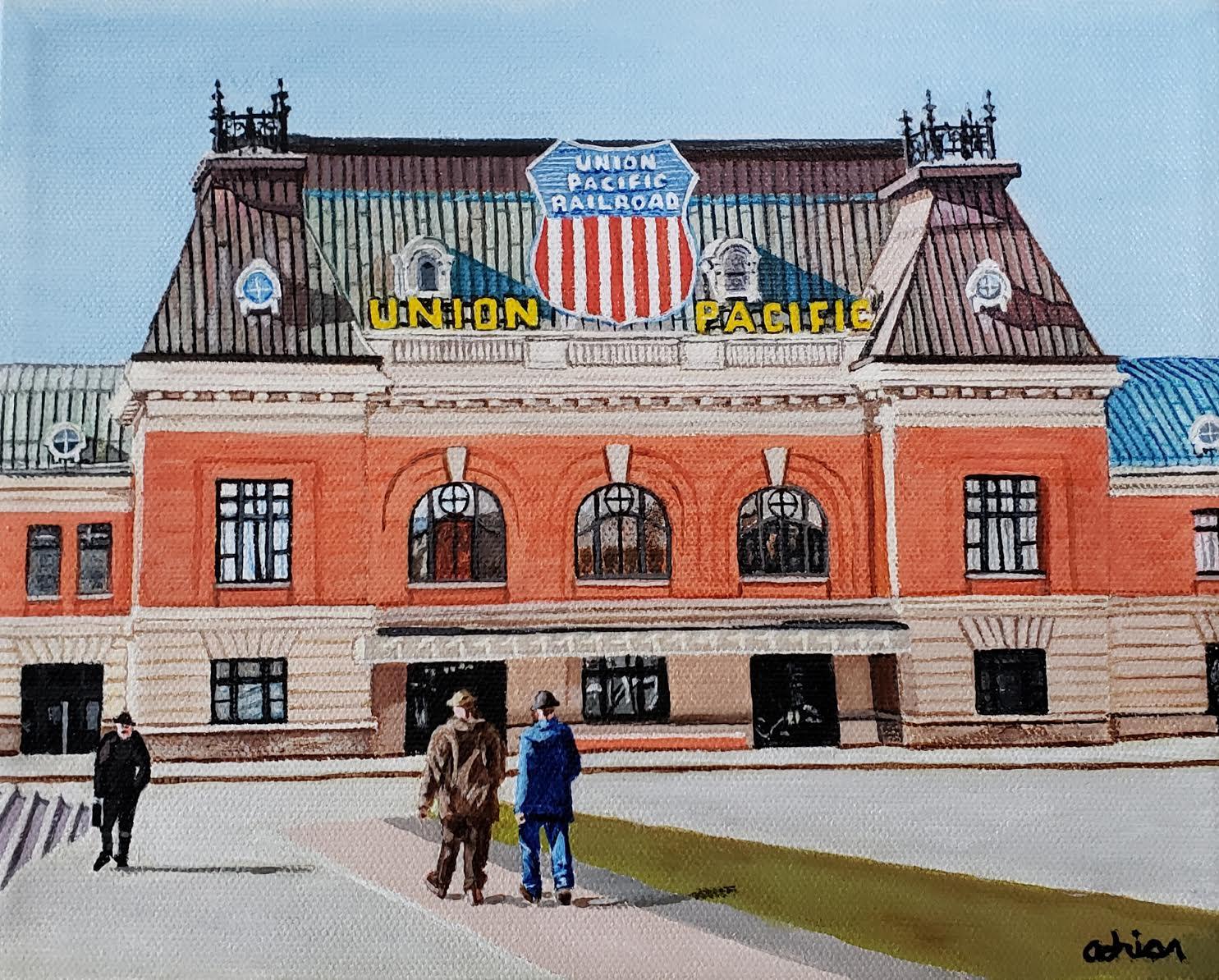 Union Pacific building Salt Lake City